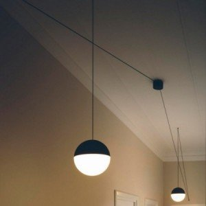 Flos STRING LIGHT SPHERE HEAD LED suspension lamp