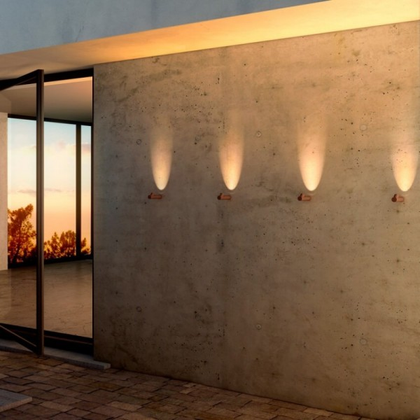 Vibia BAMBOO 4820 outdoor surface-mounted wall lamp