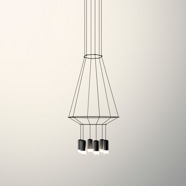 Lámpara colgante WIREFLOW 0308 Vibia