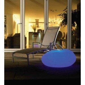Piedra decorativa LED RGB Aimur Decoración