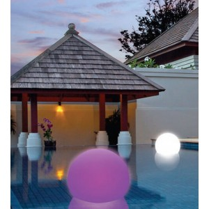 Aimur decoration LED RGB floating ball