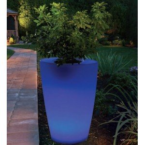 Aimur decoration LED RGB flowerpot