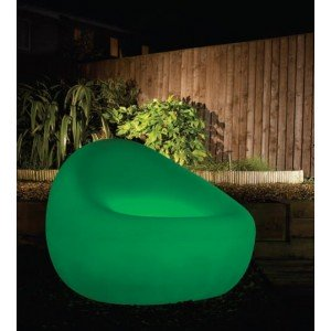 Aimur decoration LED RGB armchair