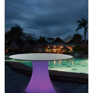 Aimur decoration LED RGB table