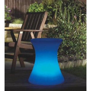 Aimur decoration LED RGB side table