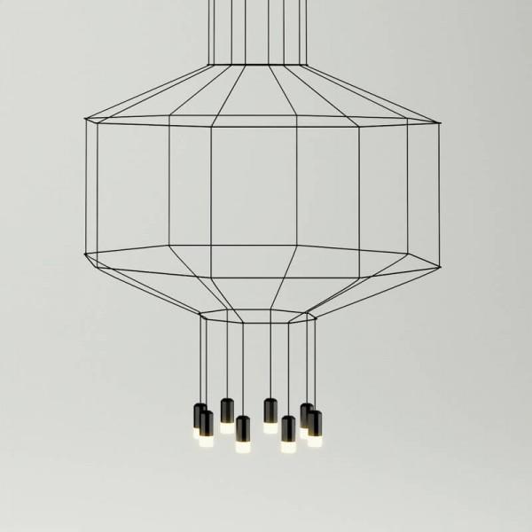 Lámpara colgante WIREFLOW 0299 Vibia