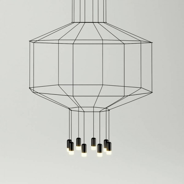 Lámpara colgante WIREFLOW 0300 Vibia