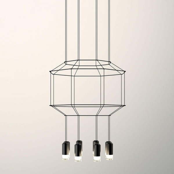 Lámpara colgante WIREFLOW 0301 Vibia