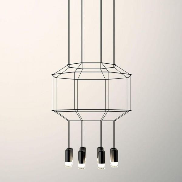 Lámpara colgante WIREFLOW 0302 Vibia
