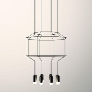 Vibia WIREFLOW 0302 hanging lamp