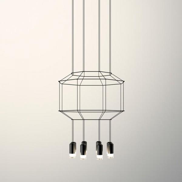 Lámpara colgante WIREFLOW 0303 Vibia