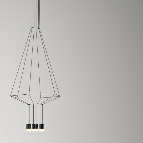 Lámpara colgante WIREFLOW 0304 Vibia