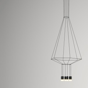 Lámpara colgante WIREFLOW 0305 Vibia