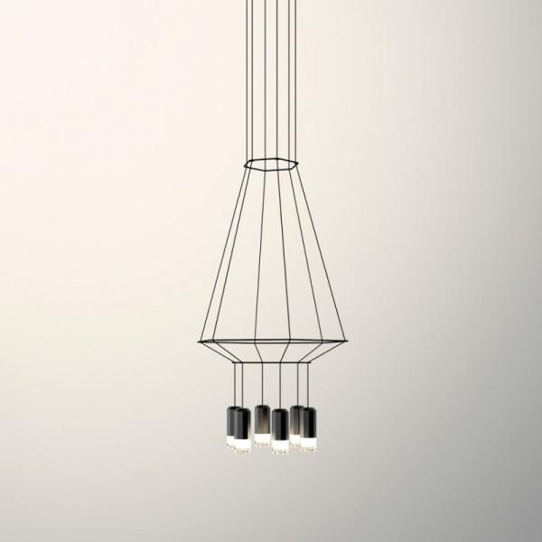Lámpara colgante WIREFLOW 0306 Vibia