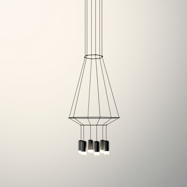 Lámpara colgante WIREFLOW 0307 Vibia