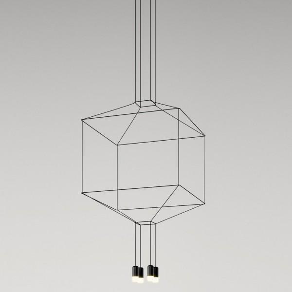 Lámpara colgante WIREFLOW 0309 Vibia