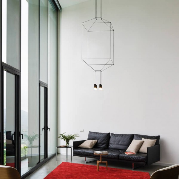 Vibia WIREFLOW 0311 hanging lamp