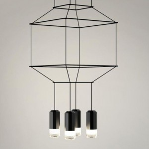 Vibia WIREFLOW 0312 hanging lamp