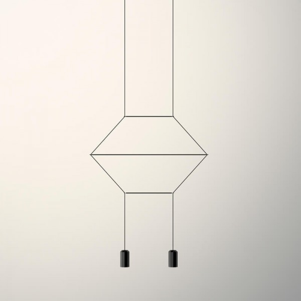 Vibia WIREFLOW LINEAL 0320 hanging lamp