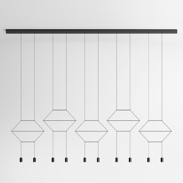 Vibia WIREFLOW LINEAL 0330 hanging lamp