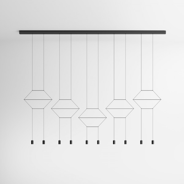 Vibia WIREFLOW LINEAL 0332 hanging lamp