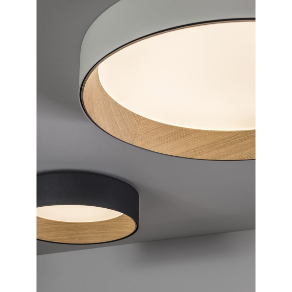 Plafón Duo Vibia
