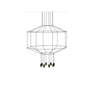 WIREFLOW 0400 hanging lamp