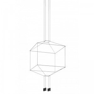 WIREFLOW 0412 hanging lamp