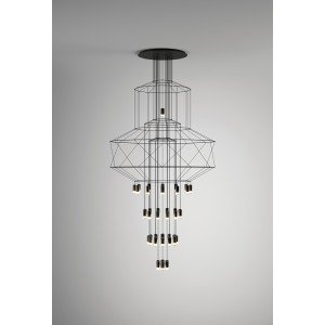 WIREFLOW CHANDELIER 0374 hanging lamp
