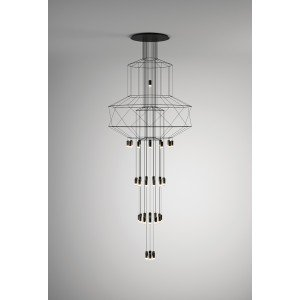 WIREFLOW CHANDELIER 0375 hanging lamp