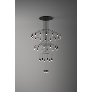 WIREFLOW CHANDELIER 0378 hanging lamp