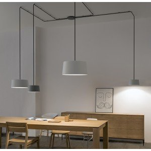 Tube hanging lamp - Vibia