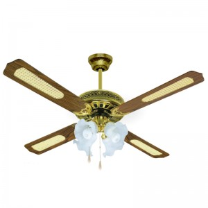 Rustic ceiling fan - Aimur