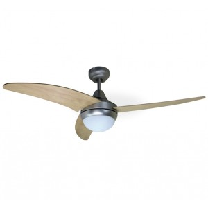Brown ceiling fan COOLWAVE - Aimur