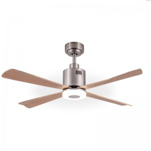 Metallic ceiling fan GOLDEN - Aimur