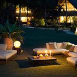 Iluminación de jardines y zonas exteriores