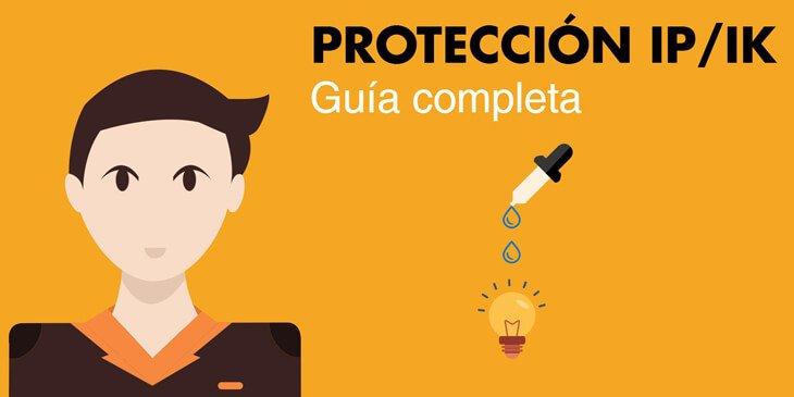 Guía para elegir el grado de protección IP e IK