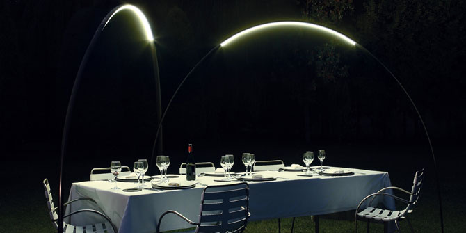 Lámpara de uso exterior Halley de vibia