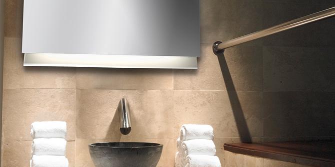 Espejo de baño iluminado - Glanz de Leds C4