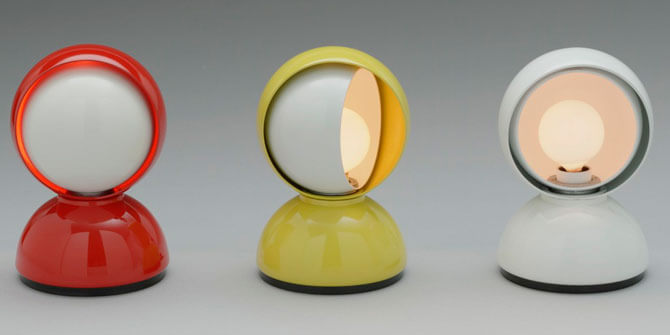 Lámpara de diseño italiano Eclisse a precio asequible