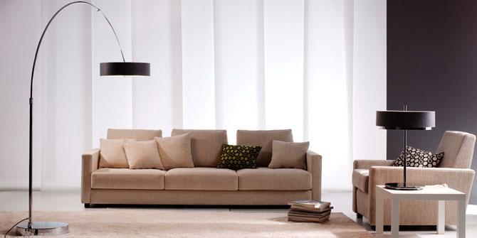 Lámpara de pie para decorar el salón con luz ambiente