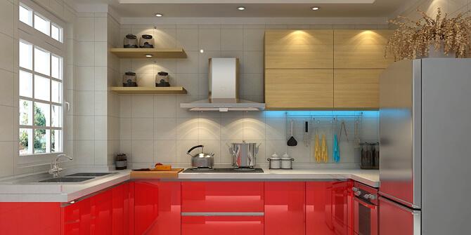 Iluminar cocina con focos de techo empotrados