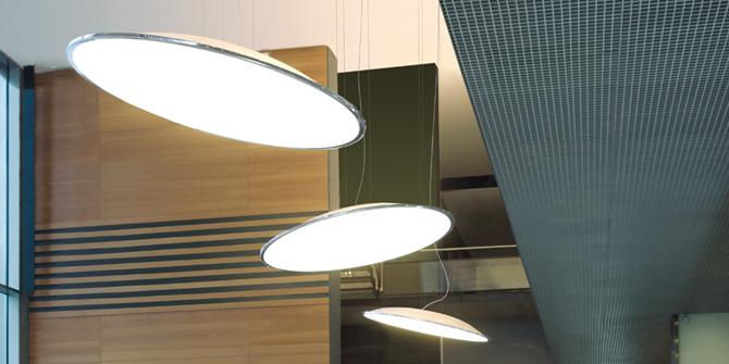 Lámpara de diseño colgante Big de Vibia