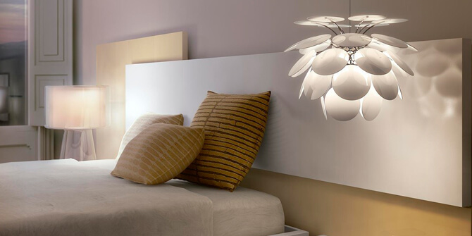 Lámpara para dormitorio Discocó