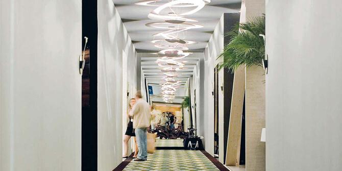 Lámpara techo y pasillo Pirce