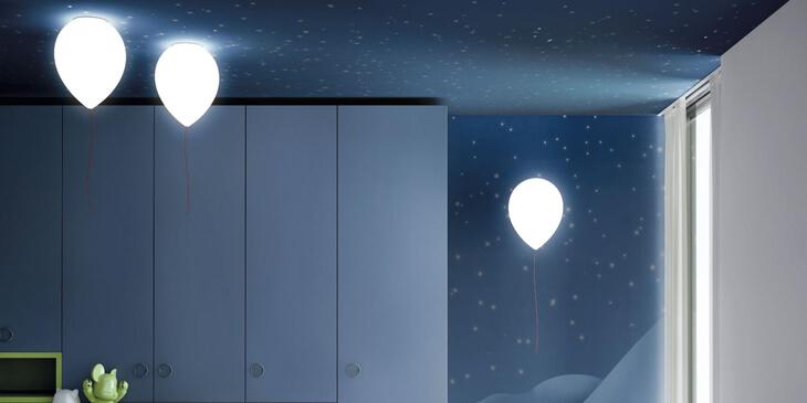 Lámpara infantil de techo y pared - Balloon de Estiluz