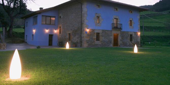 Kanpazar lámpara de exterior