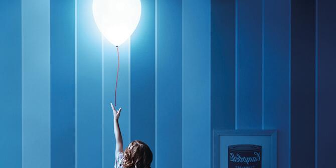 Lámpara para dormitorio infantil balloon