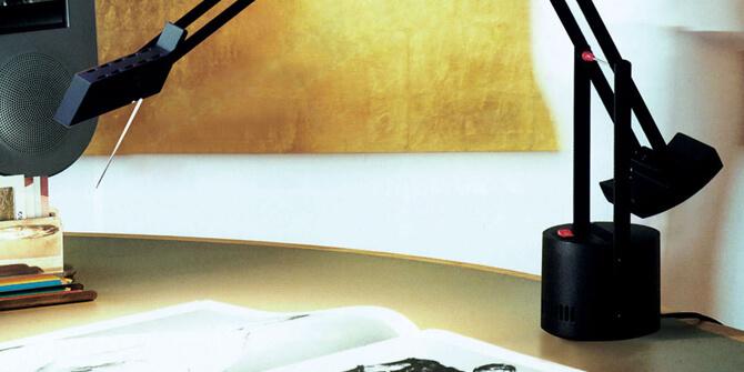 Lámpara de mesa Tizio de Artemide