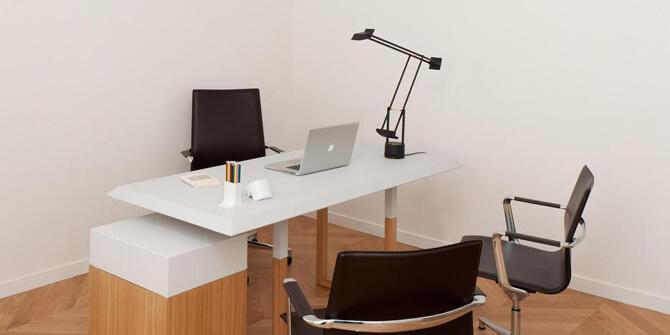 Lámpara de mesa Tizio LED de Artemide